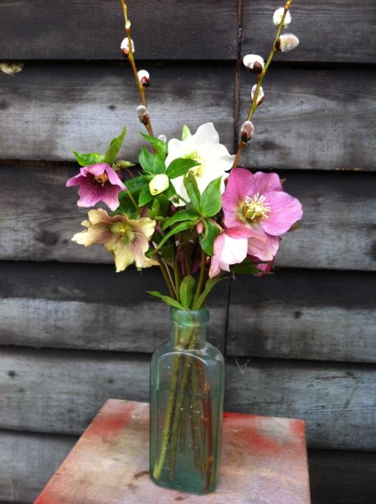 in a vase 001
